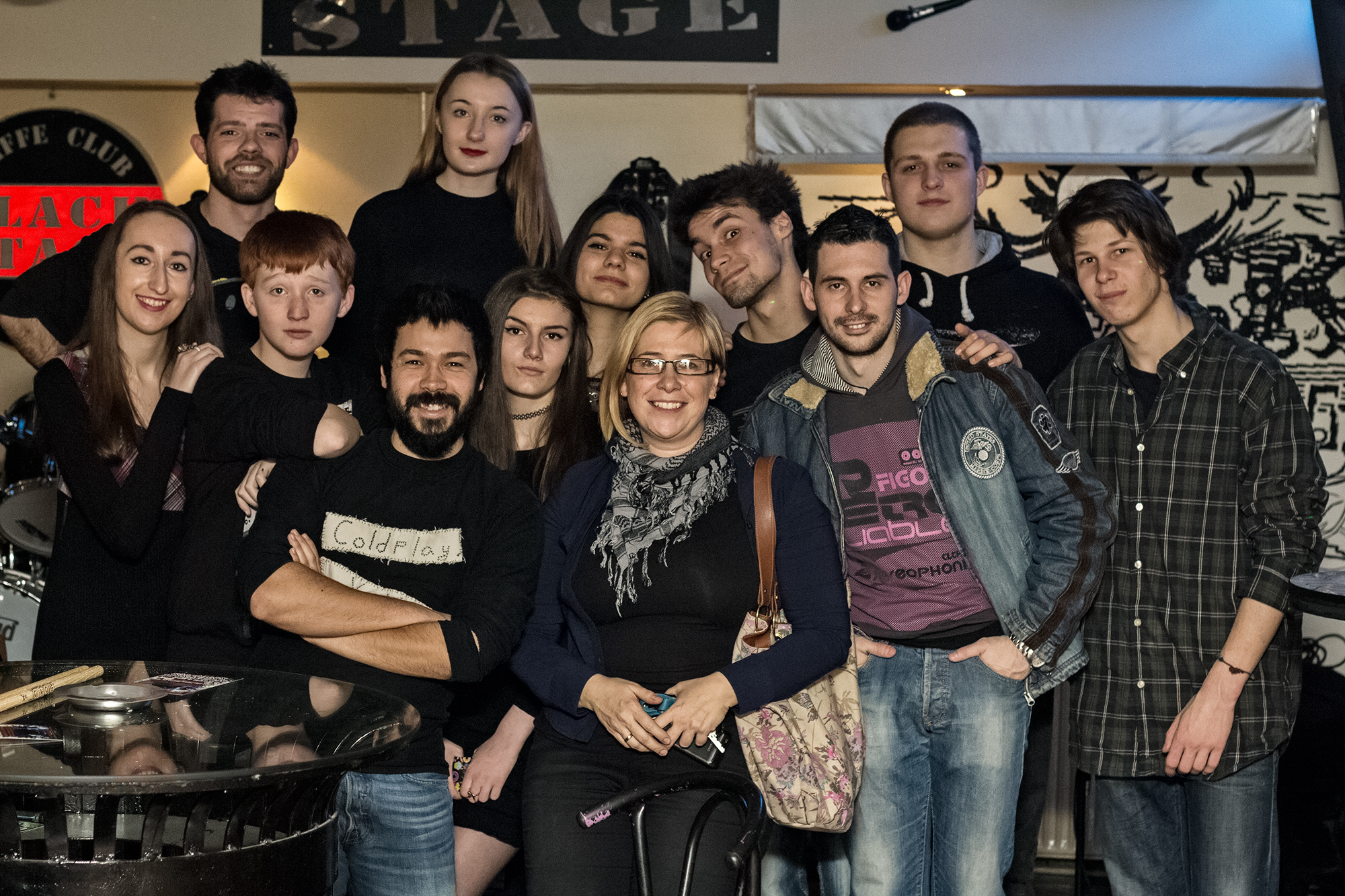 Serbia-January2015-Music workshop, afterconcert picture